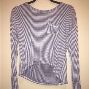 Hollister stripped sweater